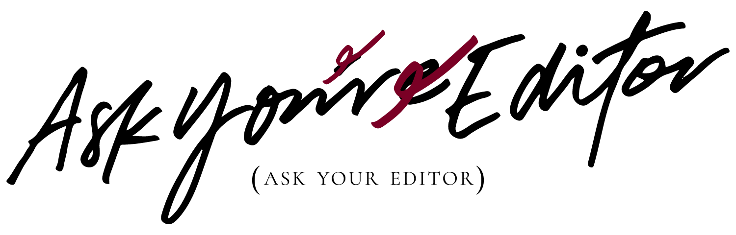 ask your editor podcast