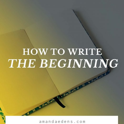 how to write the beginning