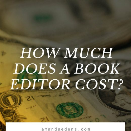 how much does a book editor cost?